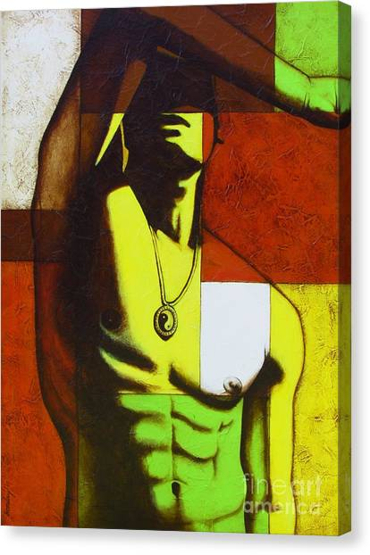 Mod Male Canvas Print