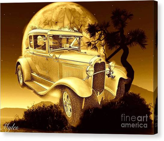 Model T Fantasy  Canvas Print