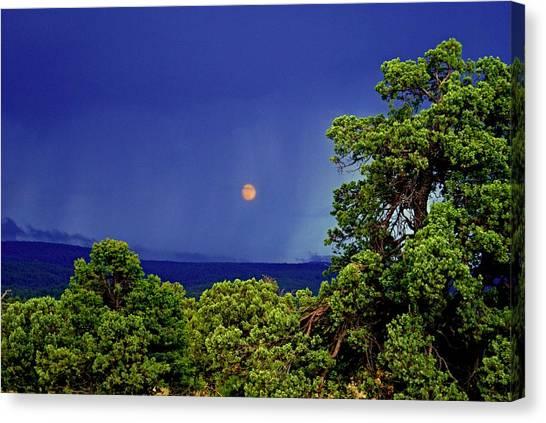 Mogollon Moon Canvas Print
