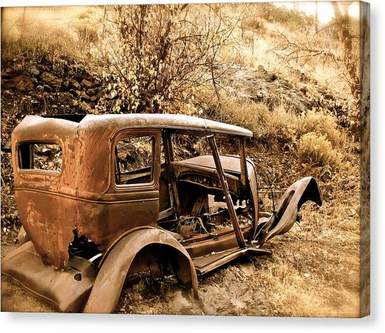 Mogollon Truck Canvas Print