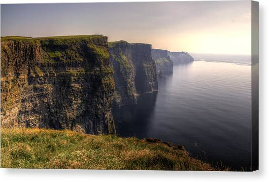 Moher Sunset Canvas Print