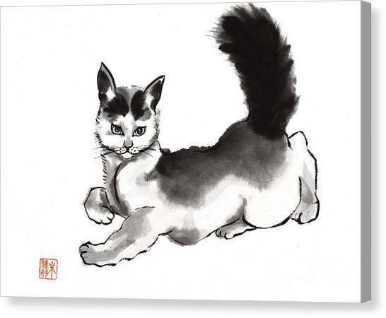 Moi? Canvas Print