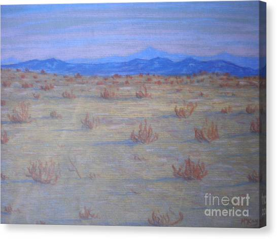 Mojave Memories Canvas Print