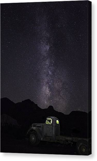 Mojave Milky Way Canvas Print