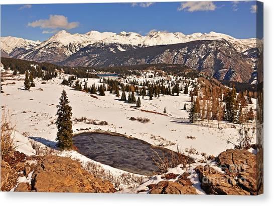 Molas Pass Winter Canvas Print