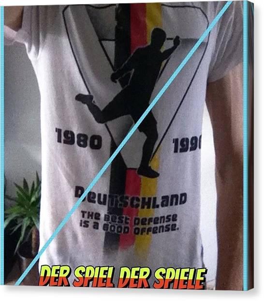 Soccer Leagues Canvas Print - #moldiv #tagsforlikes #europe #dortmund by Wesley Van burgsteden