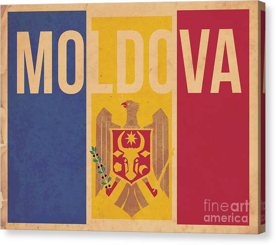Moldova Canvas Print by Megan