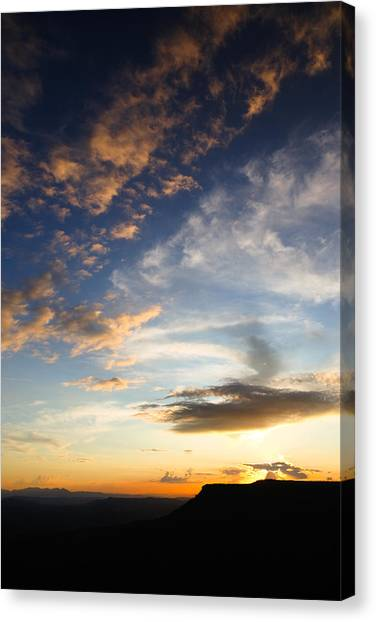Mollogon Rim Twilight Canvas Print
