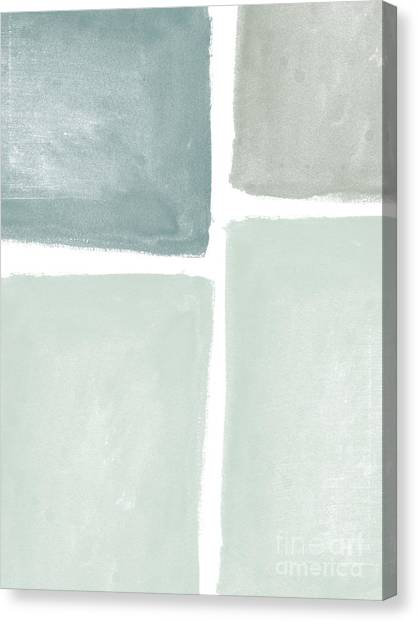 Abstract Landscape Canvas Print - Momentary Crossroads by Linda Woods