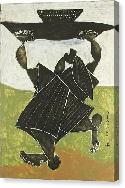 Cubism Canvas Print - Momentis  The Sacrifice by Mark M  Mellon