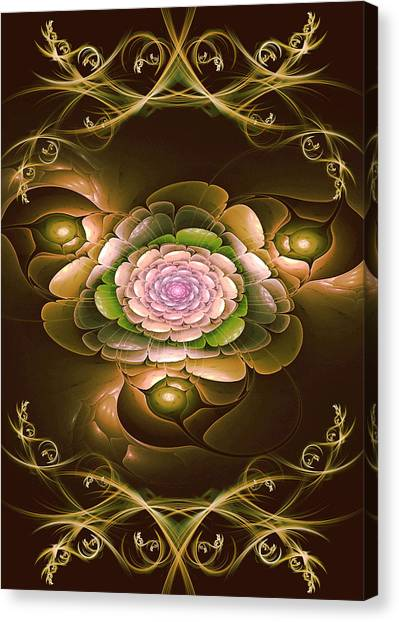 Mom's Flower Canvas Print