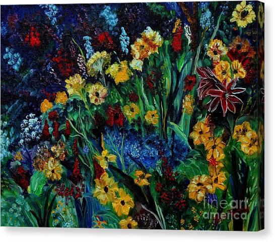 Moms Garden II Canvas Print