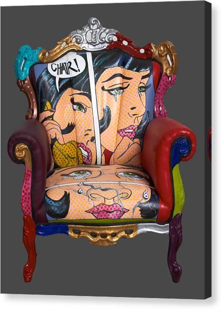 Mon Chair Canvas Print