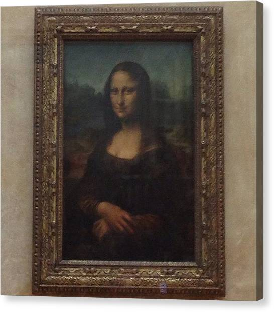 Sculptors Canvas Print - Mona Lisa by Dan Mason