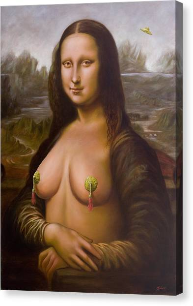 Canvas Print - Mona Lisa II by John Silver