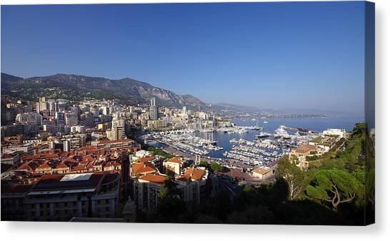 Monaco Canvas Print by Ioan Panaite