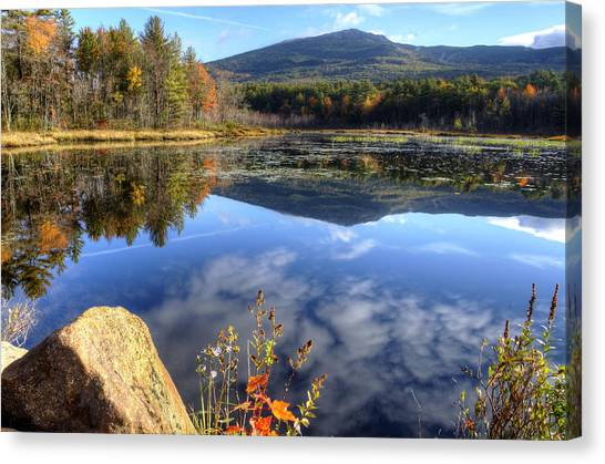 Monadnock Reflections Canvas Print