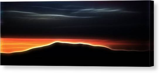 Monadnock Sunset Canvas Print