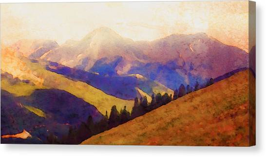 Monarch Pass Colorado Canvas Print