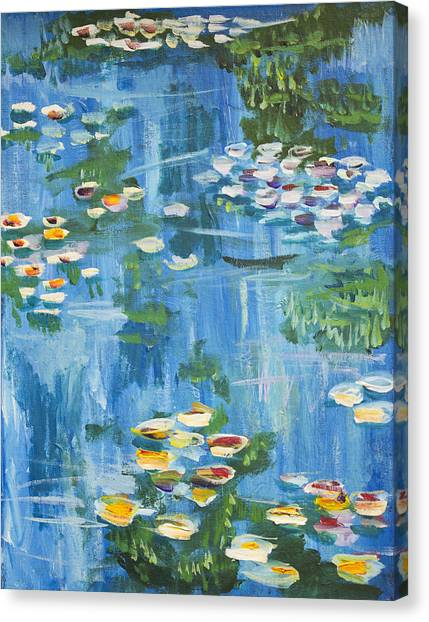 Monet Water Lilies Canvas Print