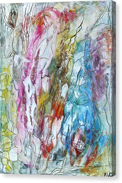 Monet's Garden Canvas Print