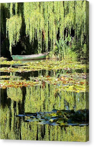 Monet's Pond Canvas Print