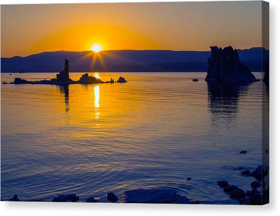 Mono Lake Sunrise Canvas Print