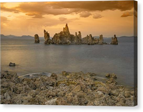 Mono Lake Sunset Canvas Print