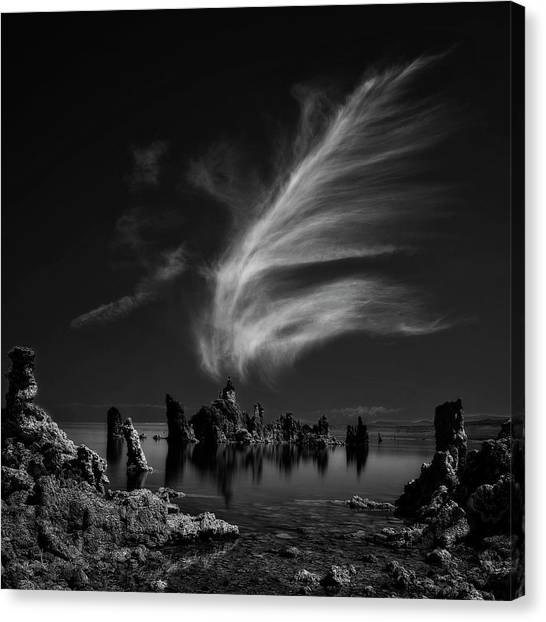 Cathedrals Canvas Print - Mono Lake's Tufa Cathedral by Yvette Depaepe