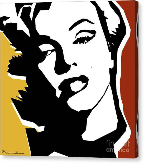 Monroe Canvas Print - Monroe by Mark Ashkenazi