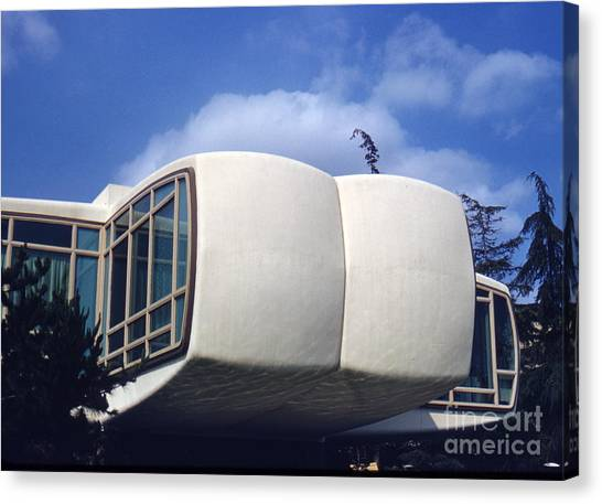 Retro Canvas Print - Monsanto House Of The Future At Disneyland 1961 by The Harrington Collection