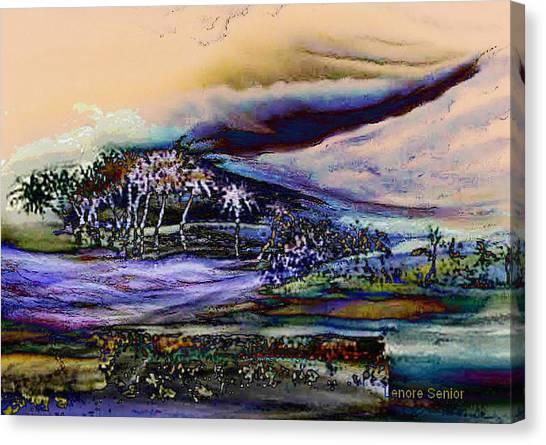 Storm Canvas Print - Monsoon 2 by Lenore Senior