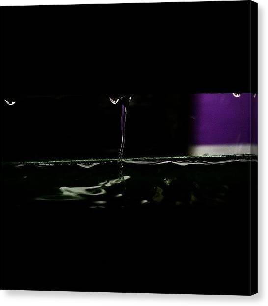 Liquids Canvas Print - Monsoon Through The Train by Bats AboutCats