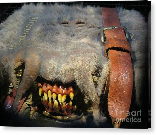 Monster Book Of Monsters Canvas Print