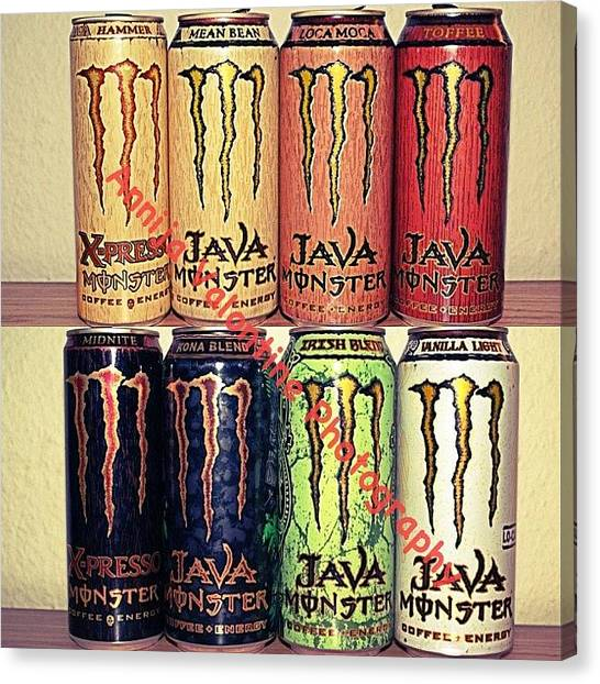 Hammers Canvas Print - Monster Energy Java :) by Annija Valontine