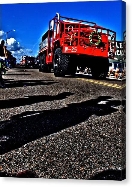 Monster Truck Canvas Print