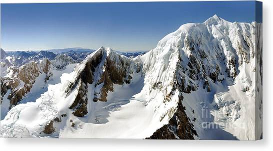 Mountainscape Canvas Print - Mount Cook by Delphimages Photo Creations