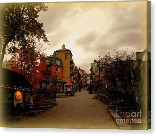 Mont Tremblant Canvas Print
