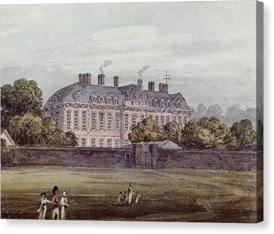 The British Museum Canvas Print - Montagu House by Natural History Museum, London/science Photo Library