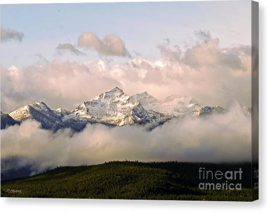 Montana Mountain Canvas Print
