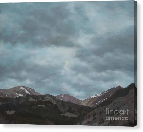 Montana Near Choteau Canvas Print