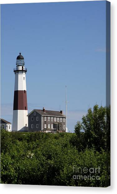 Canvas Print - Montauk Point Lighthouse I by Christiane Schulze Art And Photography
