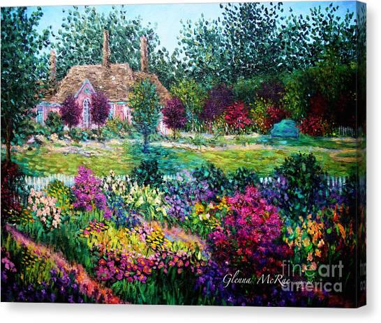 Montclair English Garden Canvas Print