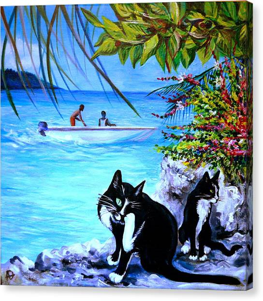 Montego Bay. Part One Canvas Print