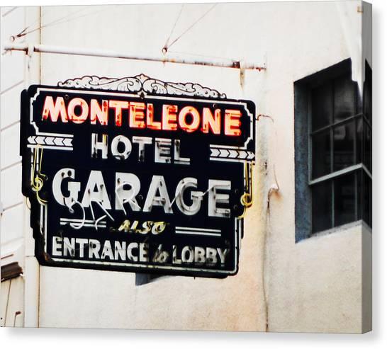 Monteleone Hotel Canvas Print