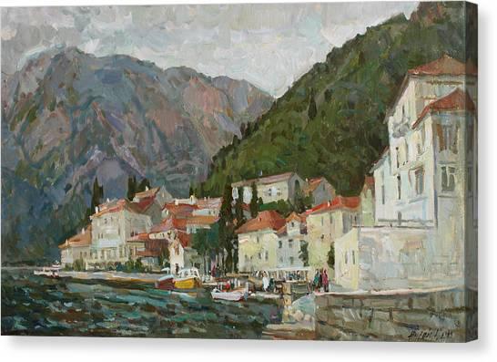 Montenegrin Venice Canvas Print