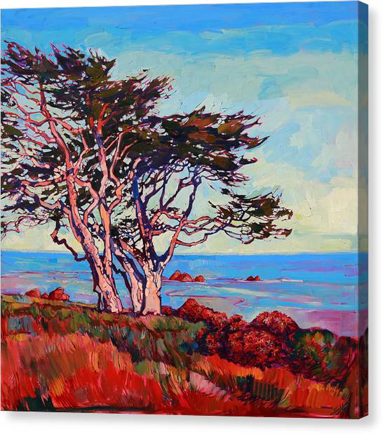 Monterey Diptych Right Panel Canvas Print
