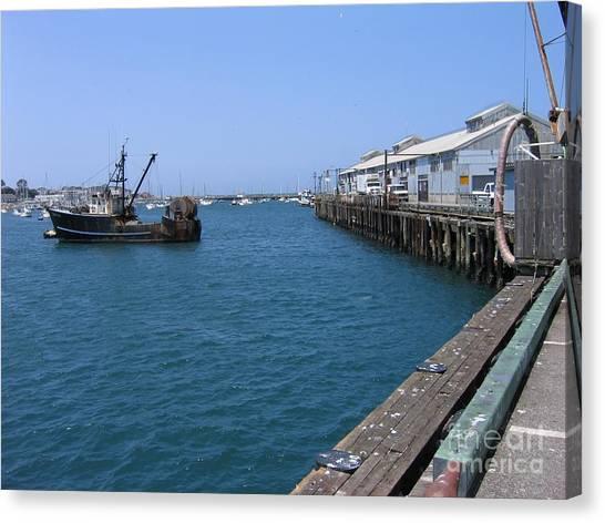Monterey Municipal Wharf Canvas Print
