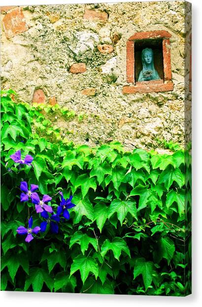 Monteriggioni Virgin Canvas Print