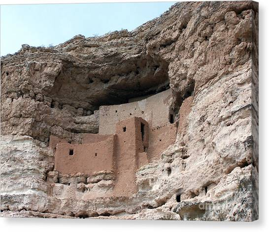 Montezuma Castle 3 Canvas Print